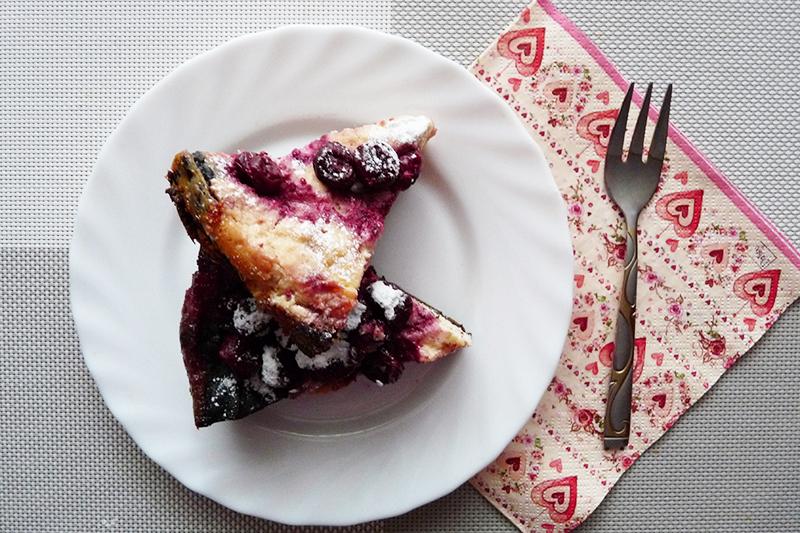 Черно-белый пирог