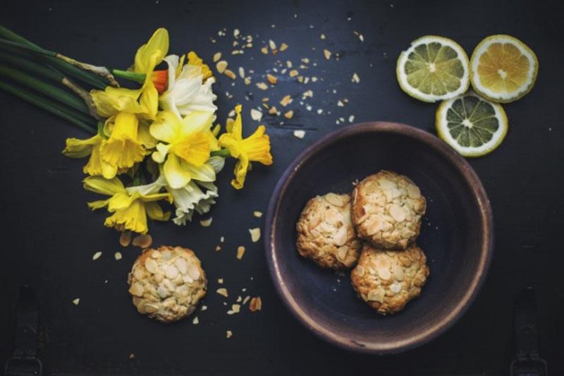 Флорентины с лимонной цедрой