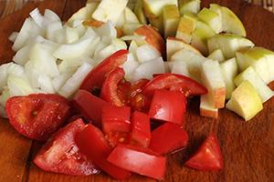 Готовим фруктово-овощную смесь