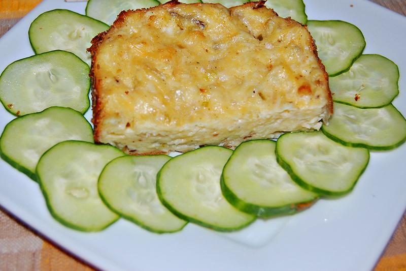 Гратен с сыром