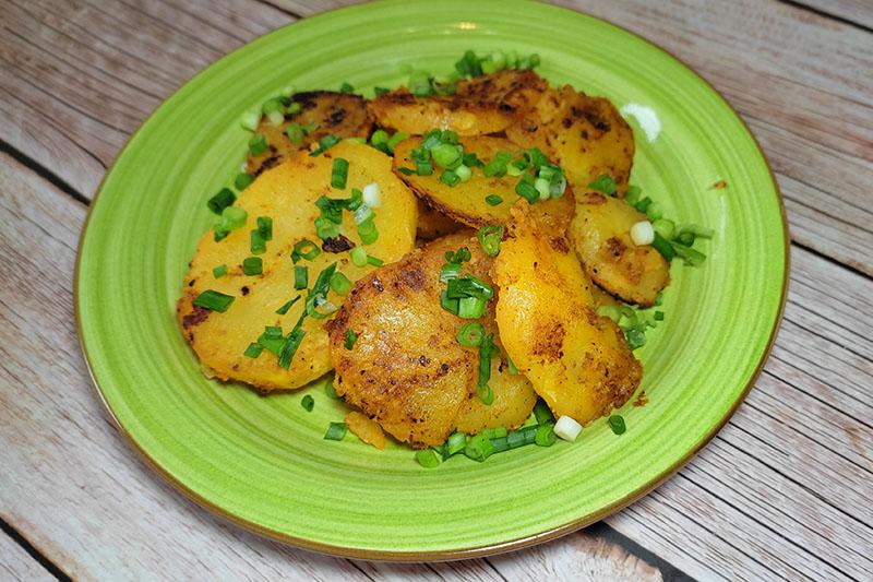 Картошка с румяной корочкой