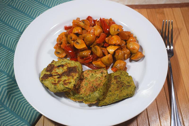 Котлеты из филе горбуши и овощей