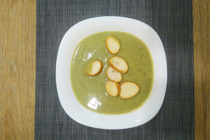 Крем-суп грибной со сливками