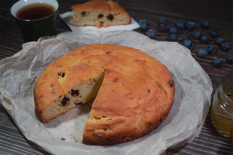 Медовый хлеб на безлактозном йогурте