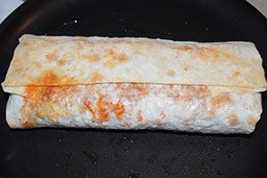 Обжариваем буррито