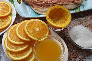 Подготавливаем апельсины