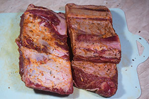 Подготавливаем говядину