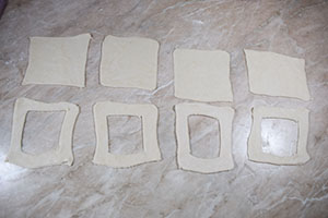 Подготавливаем тесто