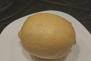 Подготовить лимон