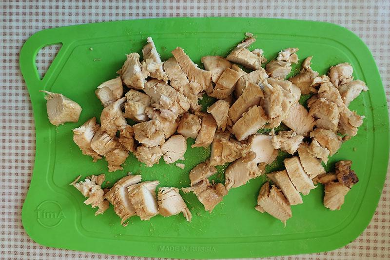 Подготовка курицы