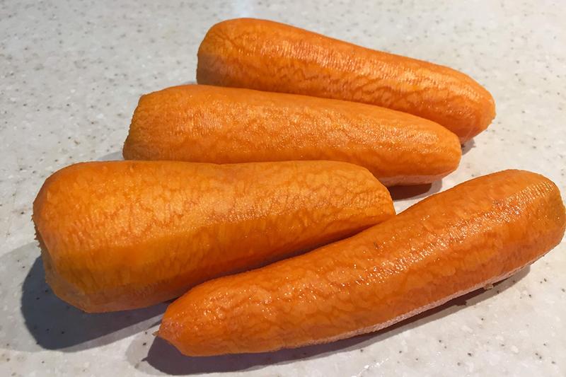 Подготовка моркови