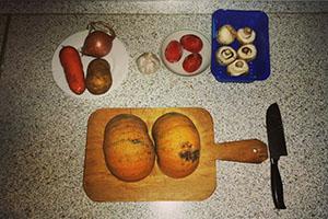 Подготовка тыквы
