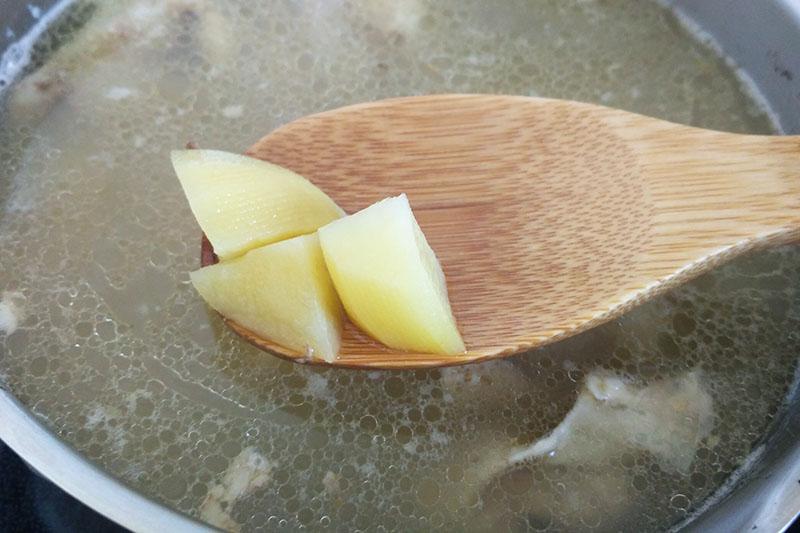 Приготовление бульона