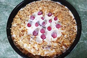Приготовление крема и сбор торта