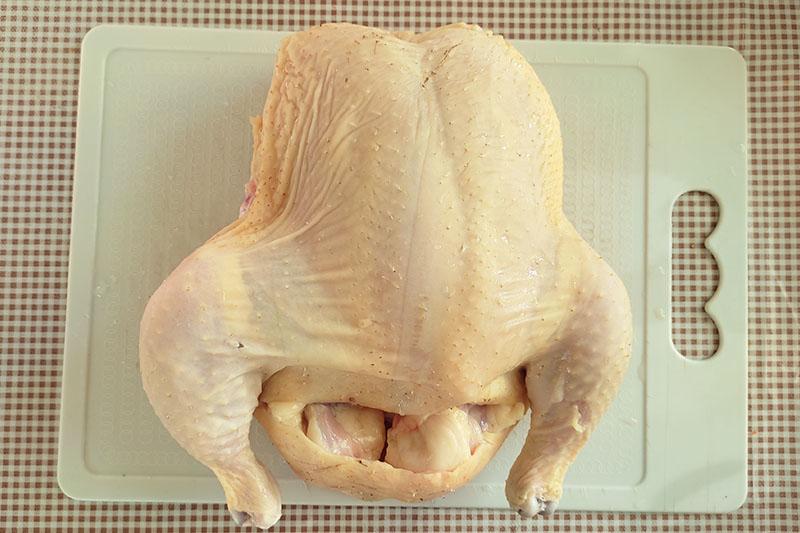 Разделка цыплёнка
