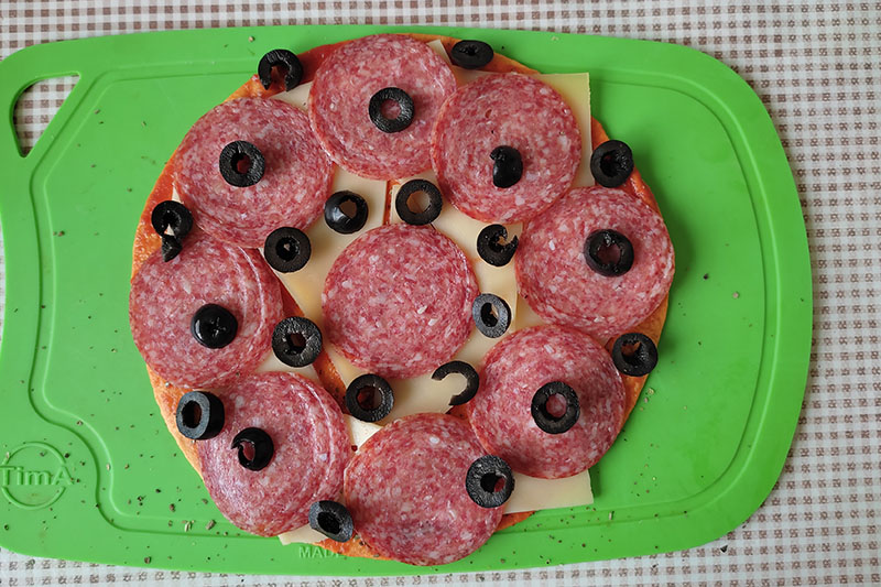 Сборка пицца