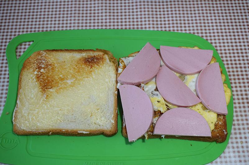 Сборка сэндвича
