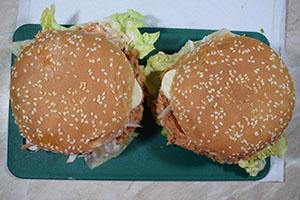 Собираем бургер