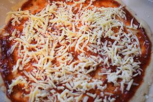 Собираем и выпекаем пиццу