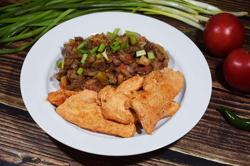Сочное куриное филе на сковороде
