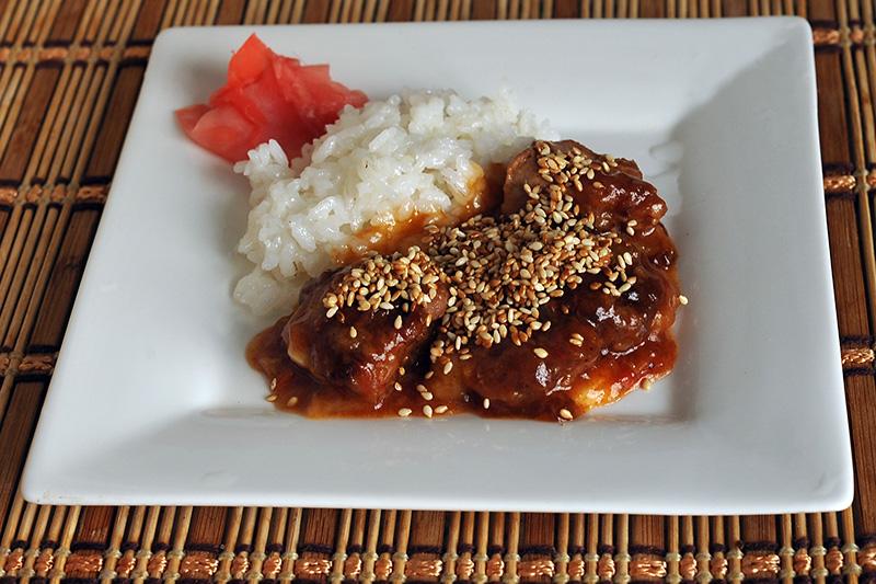Свинина в сладком соусе по китайски