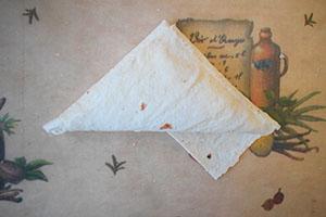 Сворачиваем треугольники 7 шаг