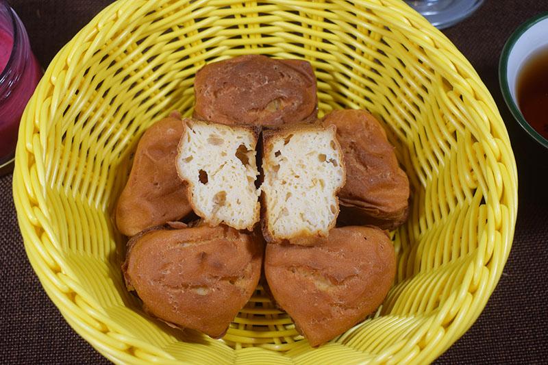 Творожно - рисовые кексы