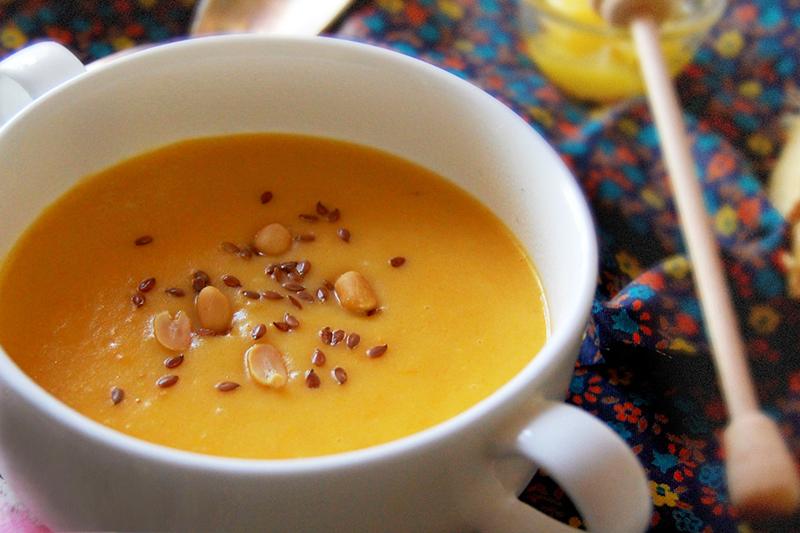 Тыквенный суп пюре с сыром
