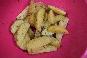 Заправляем картофель
