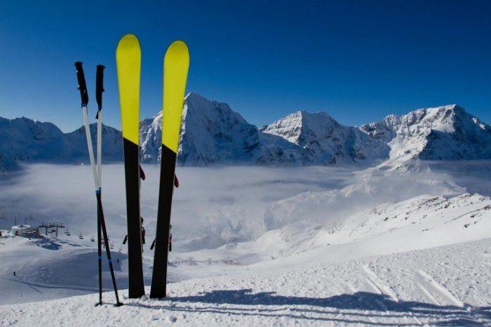 Горные лыжи как способ похудеть.