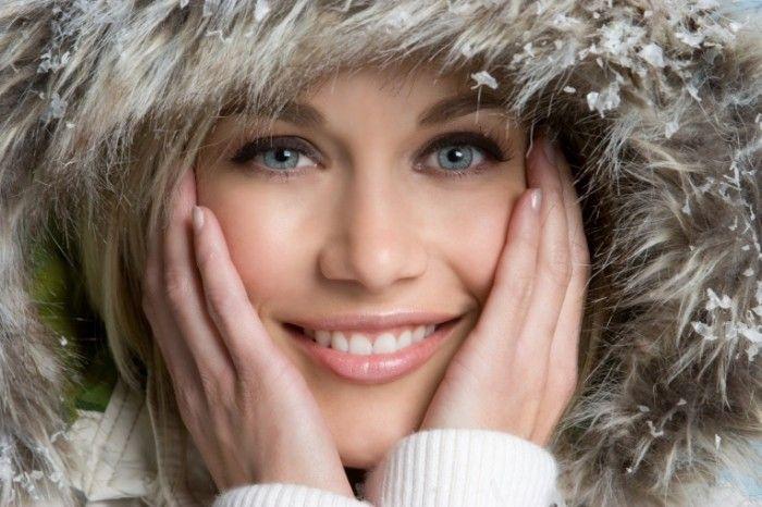 Как ухаживать за кожей лица в зимнее время?