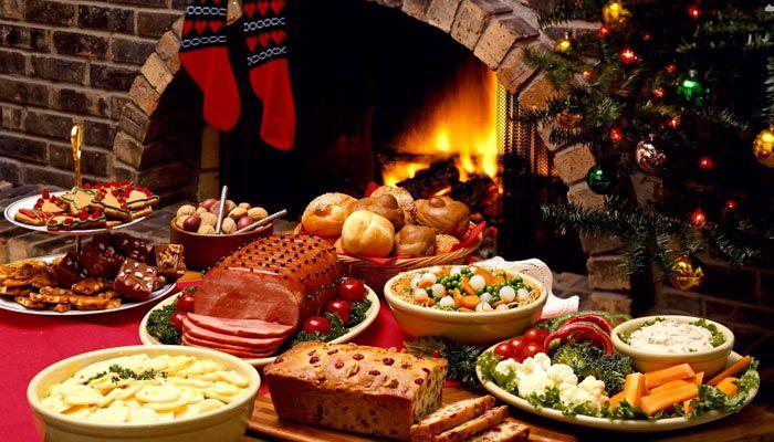 Оригинальный и лёгкий новогодний стол (рецепты)