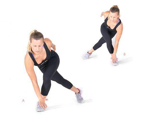 Техника выполнения упражнения конькобежец