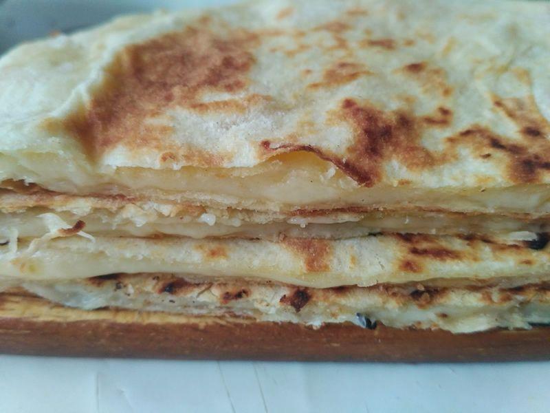 Хачапури с сыром из лаваша